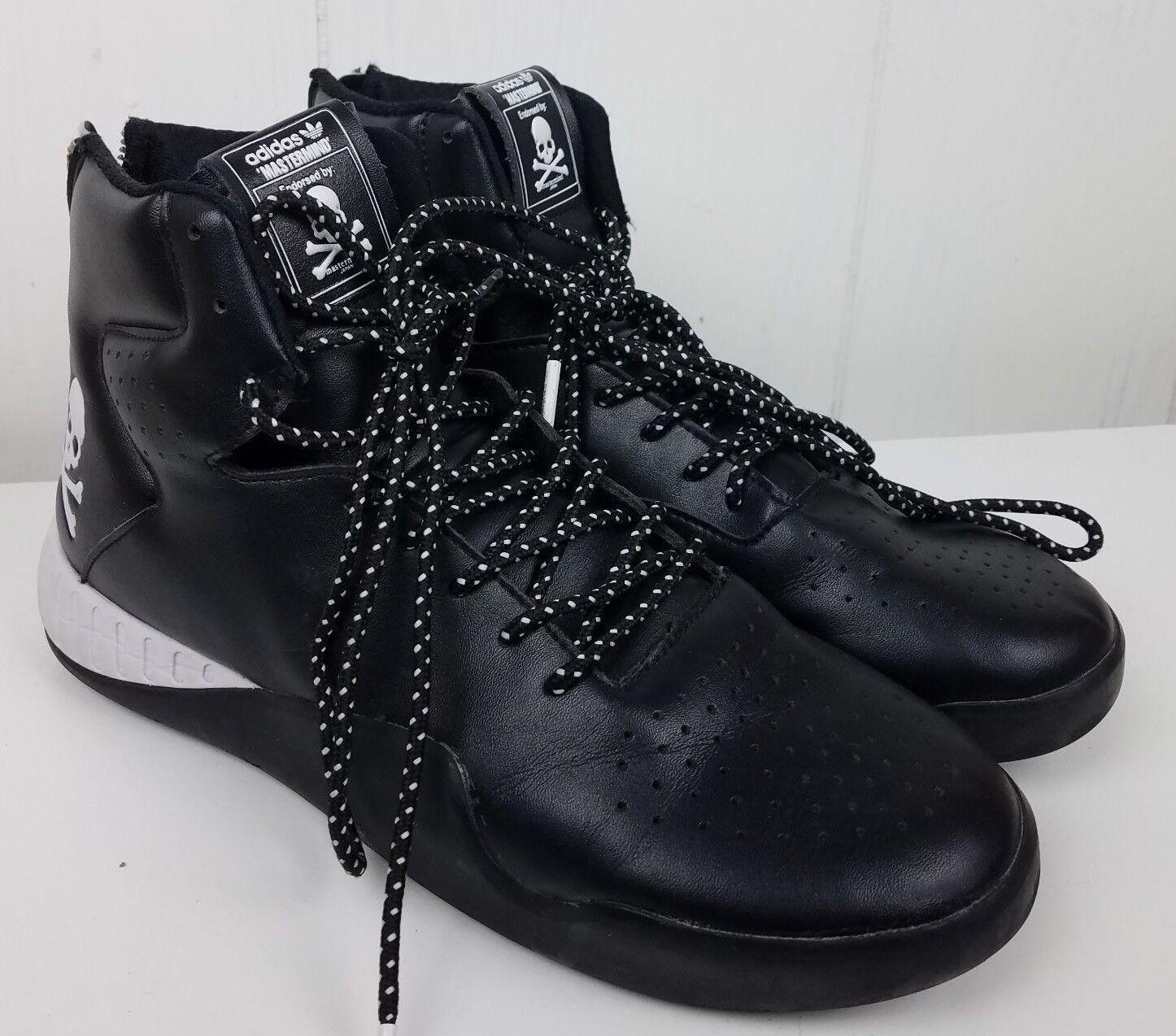 TUBULAR INSTINCT MMJ MASTERMIND size 8 Men's Black white shoes Sneakers
