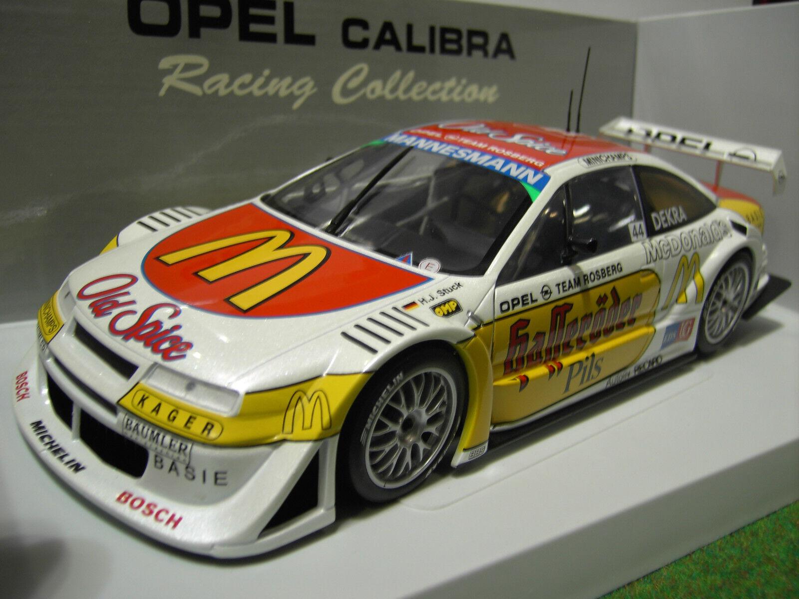 OPEL CALIBRA DTM de 1996 ROSBERG   44 au 1 18 UT Models 39678 voiture miniature