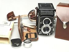 Rollei Rolleicord Vb + R1 Rolleinar-3 + R1 Hood + Rolleicord 16 Exposure Kit