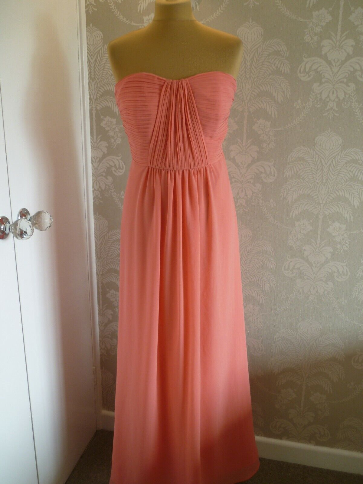 DEBUT (Debenhams) strapless evening dress size 14 - See description