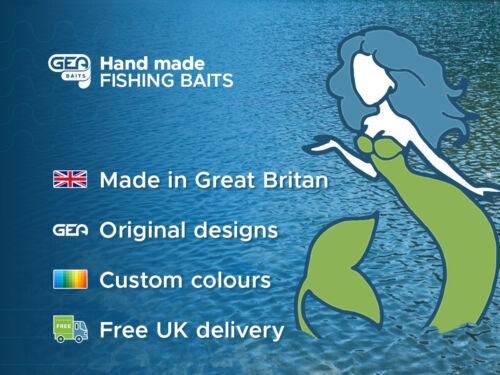 "5x 2.5/"" Grubs Tentacles GreenPumpkin Soft Plastic Lure Fishing Tackle Bait"
