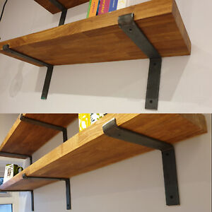 Scaffold-Board-Rustic-Shelves-Industrial-Solid-Wood-Chic-Shelf-Home-Decor-Gift
