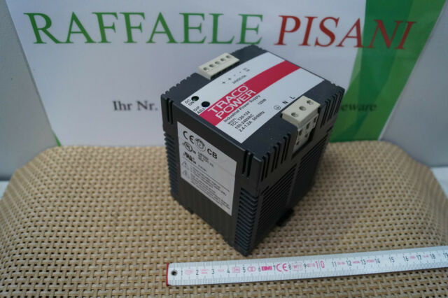 TRACO POWER TCL 120-124 ; 100-240VAC ; 24VDC / 5A Industrial power supply