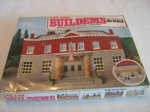 Woodlawn Police Station Life-Like Trains  HO Scale Building Kits