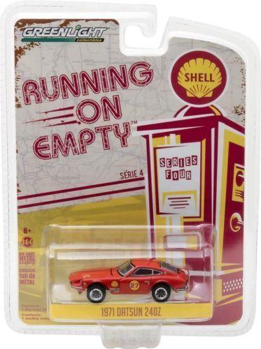 1971 Datsun 240Z  SHELL Racing Team #27 *** Greenlight 1:64 OVP  *SALE*