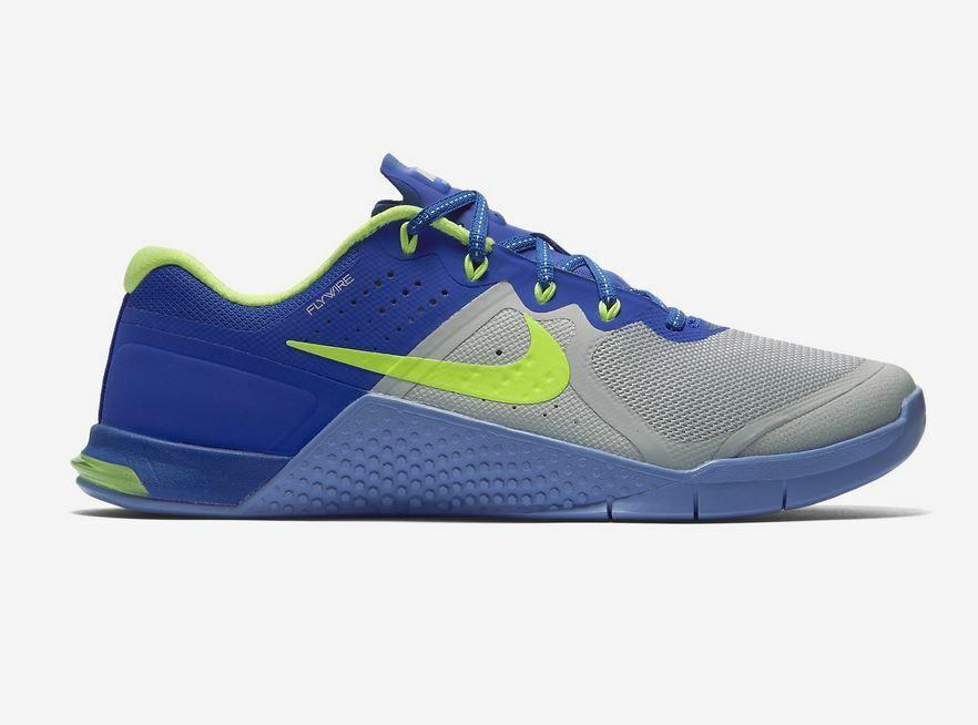 Nike MetCon 2 Cross-Training zapatos mujer 36 US5.5 azul gris 821913 003 Wmns