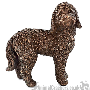 Cockapoo-Bronze-ornament-figurine-sculpture-collectable-Doodle-Dog-lover-gift