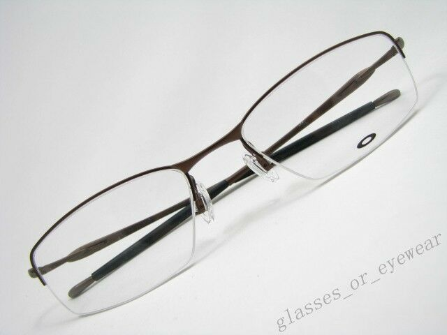 9bfd87fd4c Authentic Oakley 22-147 Transistor Pewter 51mm Half Rim Eyeglasses RX for  sale online