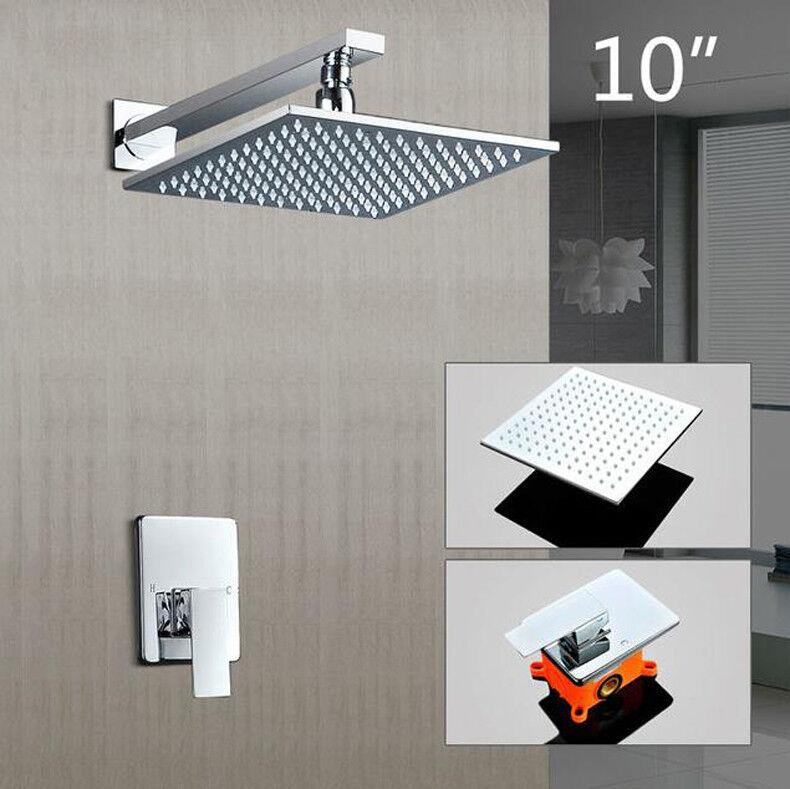 High End Products fine finition chauds et froids Douche Robinet Set salle de bain