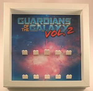 Lego Guardians of the Galaxy Vol 2 Minifigures Display Case Frame  mini figures