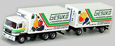 Toys, Hobbies Automotive Conscientious Man F90 Kühl-koffer Roadtrain Gesuko 1:87 Awm 5512.2 Factories And Mines