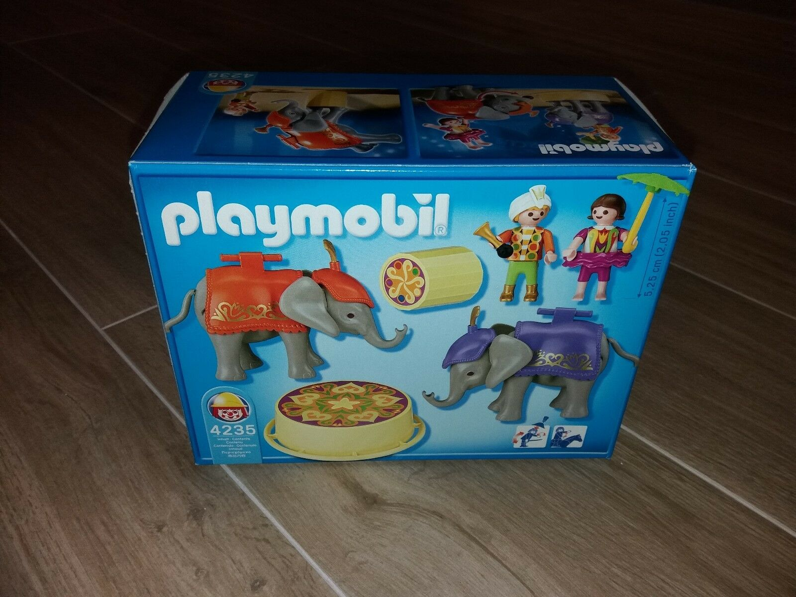 "Vintage  ""Playmobil elephant circus 4235"" made  by Geobra in 2006"