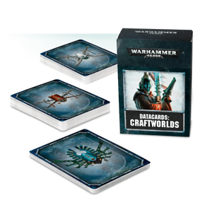Warhammer 40000 40k Craftworlds 8th Ed Datacards Data Cards sealed