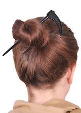 DEATH SCYTHE BUFFALO HORN HAIR STICK HAIRSTICK HAIR PIN HAIRPIN HANDMADE