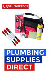 Rothenberger Plumber Apprentice Starter Kit vis pilotes Torch-Sac à outils Set