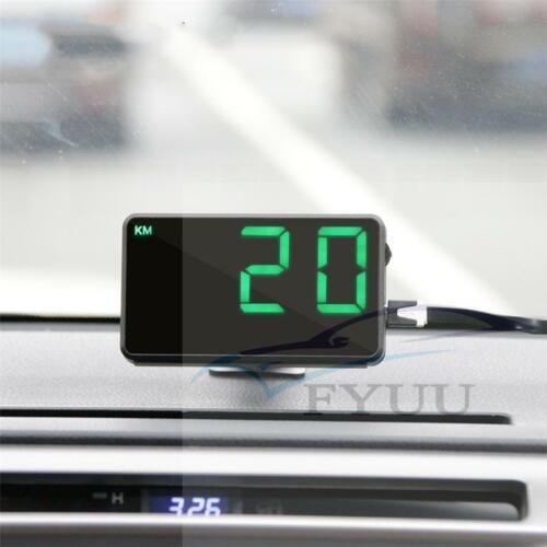 uk 1pc c80 digital car gps speedometer speed display km h mph for bike universal archives midweek com midweek com