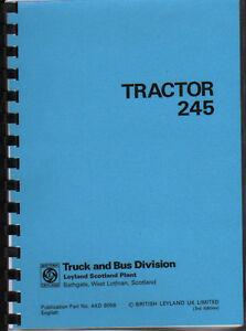 leyland 245 tractor operator manual book ebay rh ebay co uk Leyland Trucks John Deere Tractors