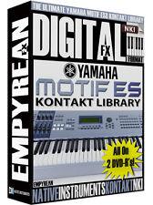 Yamaha Motif ES-8 Sounds NKI Kontakt Instrument Samples Library Mac Windows