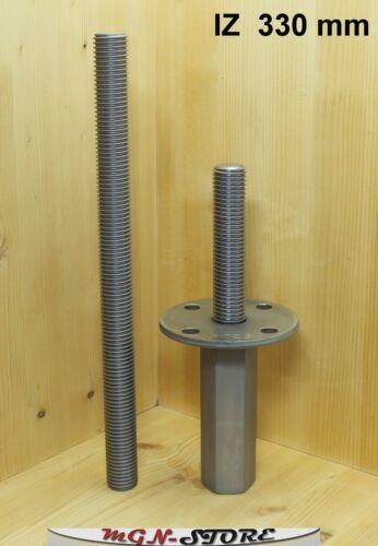 IZ PITZL® Pfostenträger Typ ZiNiP zum einbetonieren 330 mm höhenverstellbar