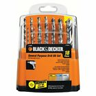 Black & Decker 71-931 HSS Drill Bit Set, 18-Piece, New, Free Shipping