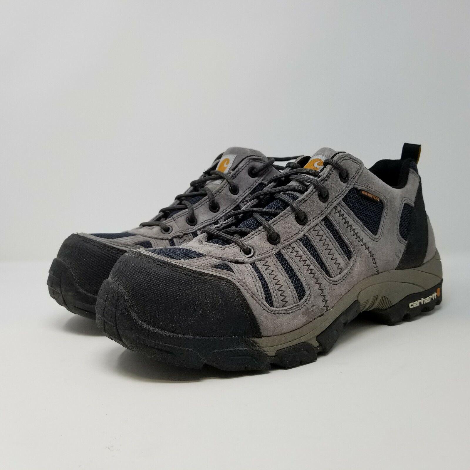 botas para hombre Composite Toe Carhartt US 11.5 Ante gris Azul Marino Nylon CMO3356