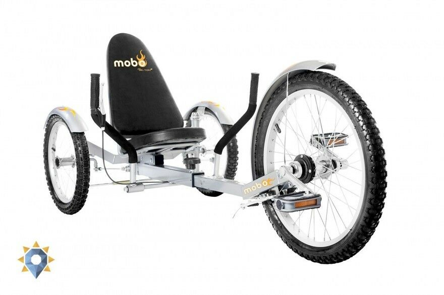 Adult Tricycle Lowrider Trike 3-Wheeled Cruiser Bike Recumbent Folding Men Women