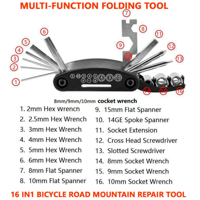 Large Multitool for Bicycles Sigma Sport Pocket Tool