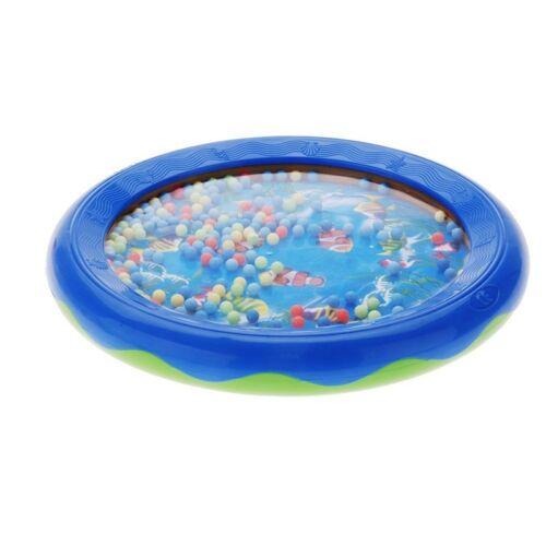P2Y8 Ocean Wave Bead Drum Gentle Sea Sound Musical Educational Toy Tool for Baby