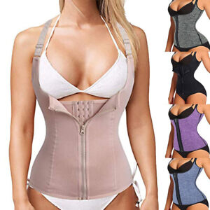 Fajas-Reductoras-Colombiana-Body-Shapers-Waist-Trainer-Tummy-Control-Corset-Vest