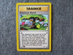 Pokemon Neo Genesis First Edition 102//111 Pokémon-Marsch