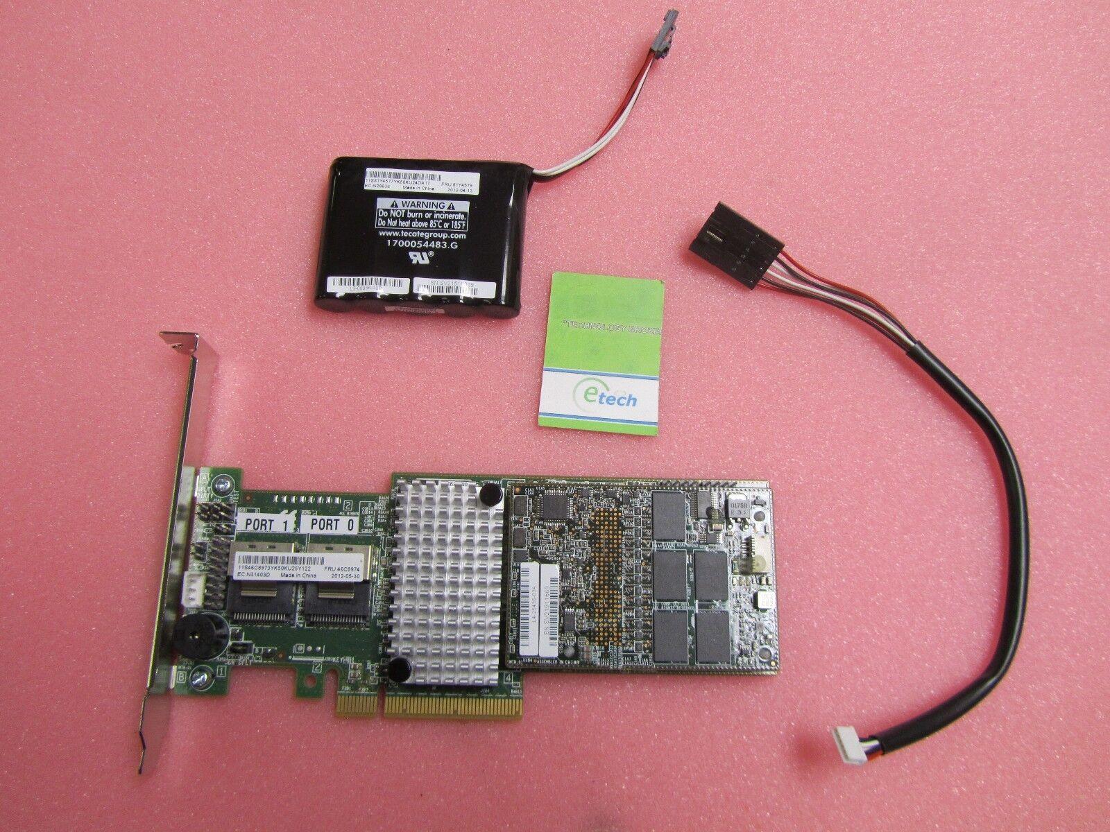 46C8974 / 90Y4304 - IBM ServeRAID M5016 SAS/SATA Controller for IBM System x