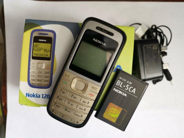 Nokia 1200-Schwarz (entsperrt) Handy