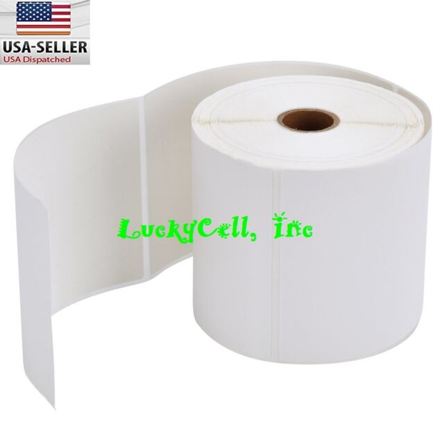 2 Rolls Direct Thermal Shipping Labels 500/roll 4x6 For Zebra ZP450 Eltron 2844