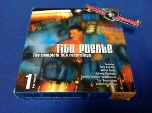 Tito-Puente-Complete-RCA-Recordings-CD-Boxset-Volume-1-One-USED-Piranha-Records