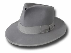 Cappello-Fedora-Johnny-Depp-Top-Quality-anticato-grigio-perla