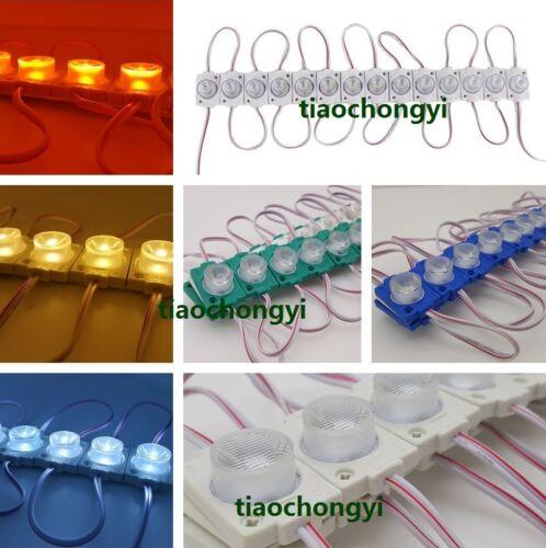 1.5W LED 3030 1box of LED Modules 180 degrees lens of brightness side lighting