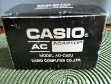 CASIO AC POWER SUPPLY CHARGER ADAPTER model ad-c6ou output 6 vdc
