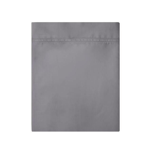 NWT NEW Yves Delorme Ipanema purple green lavender white king Flat Sheet 106x116