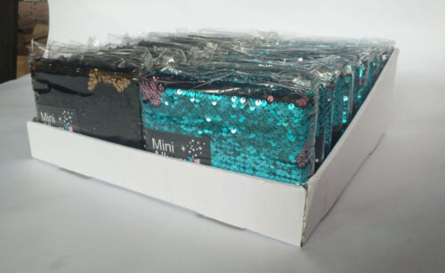 "10x15cm Mini Flippy Lentejuelas Slipin álbum de fotos contiene 36 fotos 6/""x 4/"" Rosa//Azul"