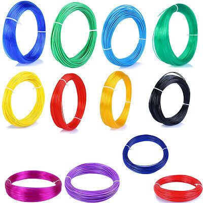 10M 3D Printer Filament 1.75mm 3mm ABS / PLA MakerBot RepRap Pen Gift Sales
