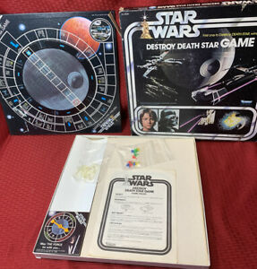 Vintage 1977 Kenner - Star Wars Destroy The Death Star ...