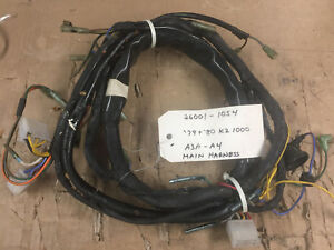 main wiring harness kawasaki kz1000 mkii 26001 1054 nos or nbto ebayKz1000 Wiring Harness #10