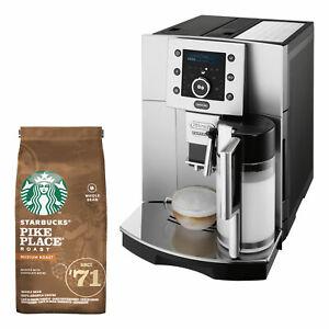 DeLonghi ESAM 5500.S Perfecta Kaffeevollautomat Kaffezubereiter STARBUCKS Bundle