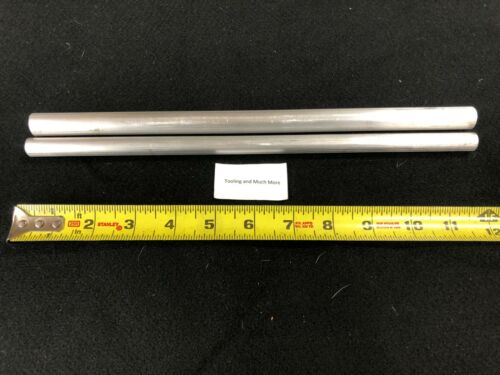 "1//2/"" and 5//8/""rd ALUMINUM  ROD//BAR  6061 12.00/"" long Lathe or milling Stock"
