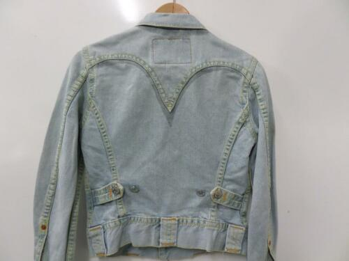 Cropped Xs Xs 32 32 Levi's Cropped Vtg Blu Jacket Womens Blue Denim Jacket Vtg Denim Taglia Levi's Size Womens qTx8TE1