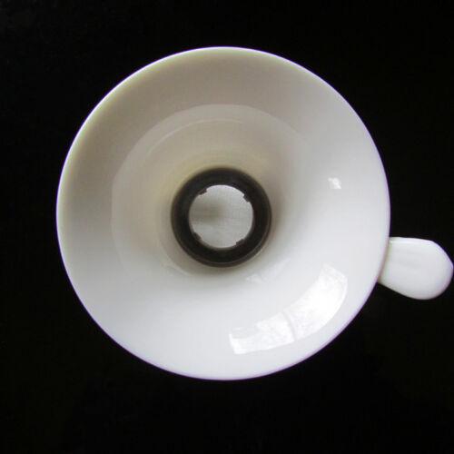 Accessori tè cinese porcellana tè filtraggio e supporto a mano forma Filtro di rete