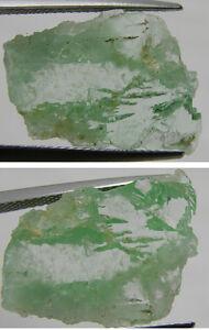 #7 Vietnam 100% Natural Transparent Amazonite Microline Crystal Specimen 7.85ct