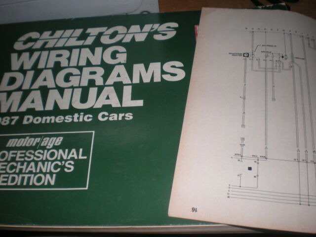 1987 Lincoln Mark Vii Wiring Diagrams Schematics Manual