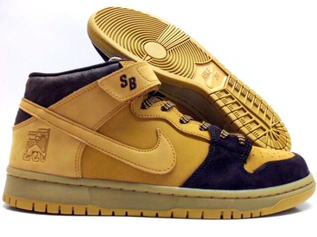 buy popular 6e58b 5cebf Mens Nike SB Zoom Dunk Mid Pro Shoes Cappuccino Bronze Wheat Aj1445 200