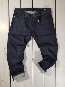 Raccomandato-Prezzo-al-dettaglio-210-NUOVO-DIESEL-Uomo-Jeans-Iakop-RH248-Regular-Slim-Tapered